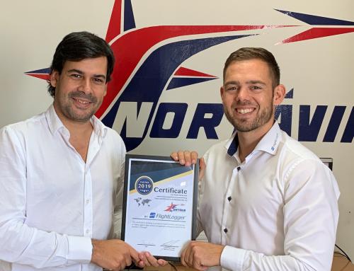 NORTÁVIA is CloudSurfing with FlightLogger!