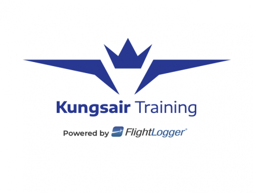 Kungsair Training from Sweden chooses FlightLogger!