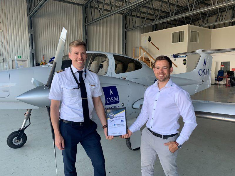 FlightLogger and OSM Aviation Academy