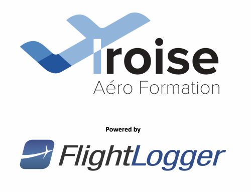 Iroise Aéro Formation joins forces with FlightLogger